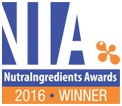 Nutra Ingredients 2016 Winner